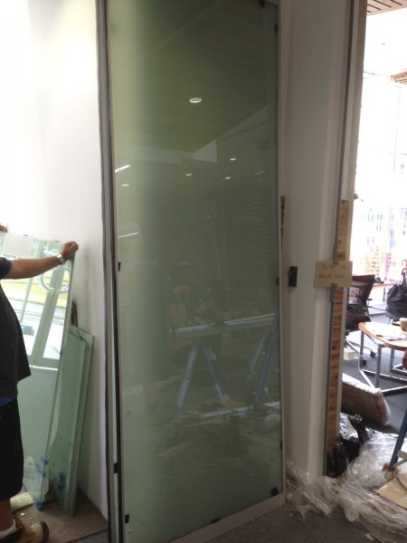 Bendigo Bank Project - Switchable Privacy Glass Installation
