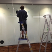 Bendigo Bank Project - Switchable Privacy Glass OFF