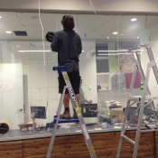 Bendigo Bank Project - Switchable Privacy Glass ON