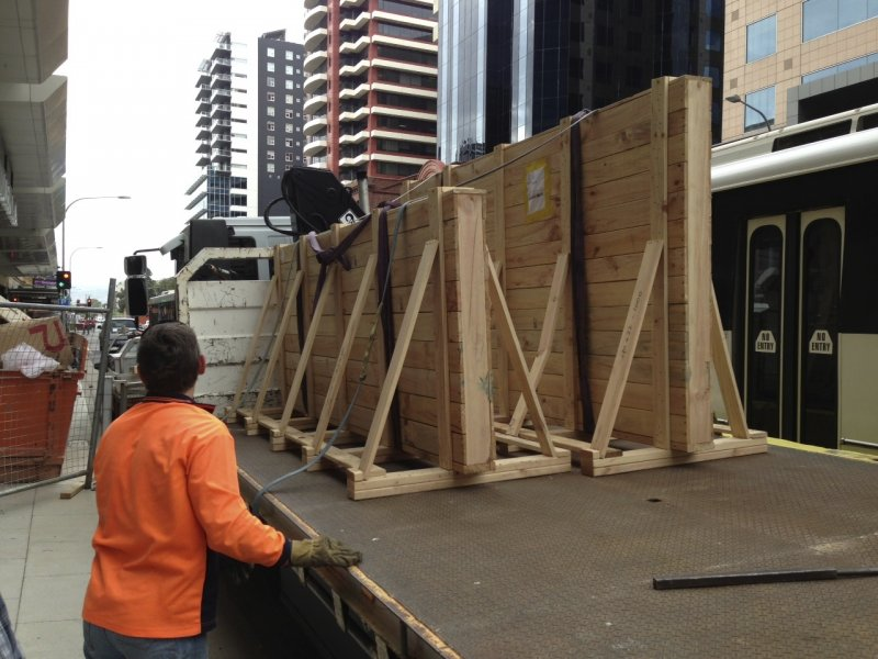 Bendigo Bank Project - Switchable Privacy Glass Freight