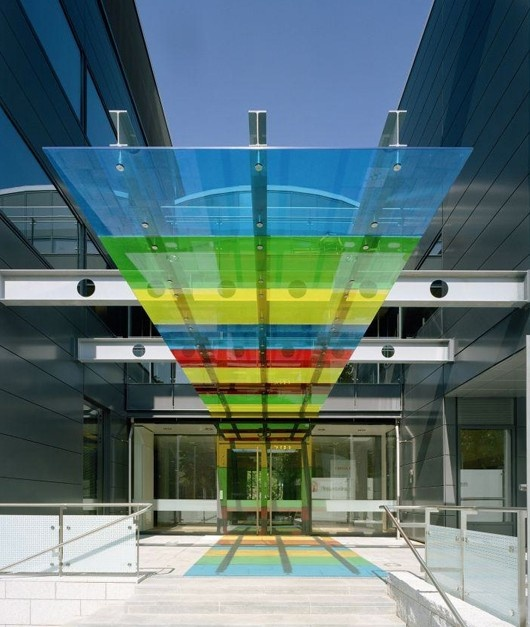 Vanceva Coloured Glass Custom Glass Products