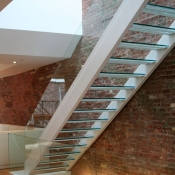 Glass Balustrading Stairs 2