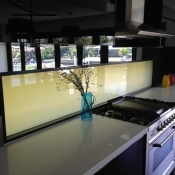 Kitchen Splashback Privacy Glass OFF
