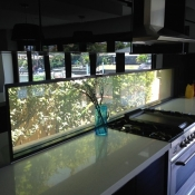 Kitchen Splashback Privacy Glass ON