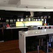 Kitchen Splashback Privacy Glass