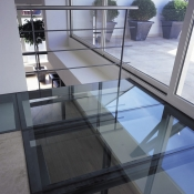 Overhead Glass Flooring 4