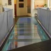 Overhead Glass Flooring 5