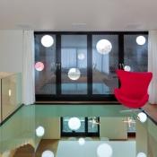 Overhead Glass Flooring 6