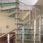 Glass Balustrading Stairs 10