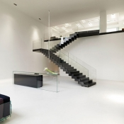 Glass Balustrading Stairs 11