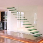 Glass Balustrading Stairs 4