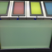 Switchglass™ Coloured Green Off