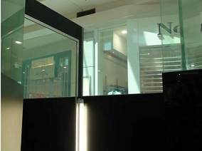 Paula's Boutique - Switchable Privacy Glass used in Changing Room