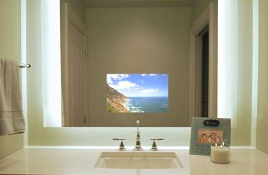 Seura Vanishing Television Mirror